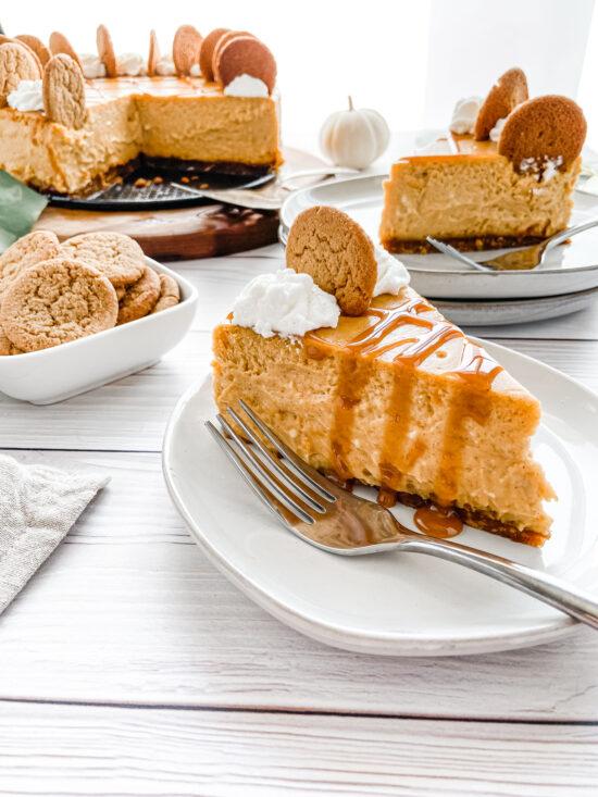 Pumpkin Cheesecake (gluten-free)