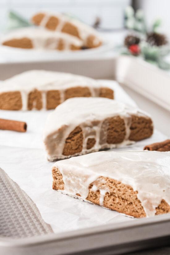 Gingerbread Scones (gluten-free)