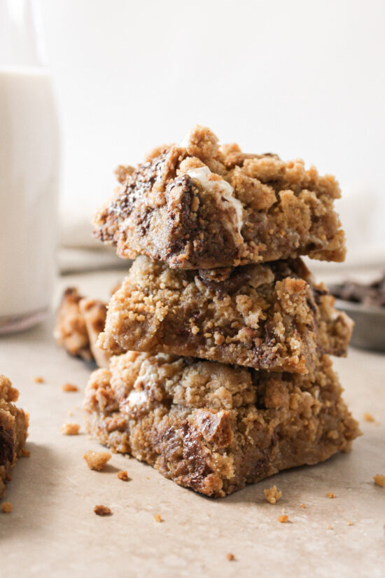Gluten-free S'mores Cookie Bars